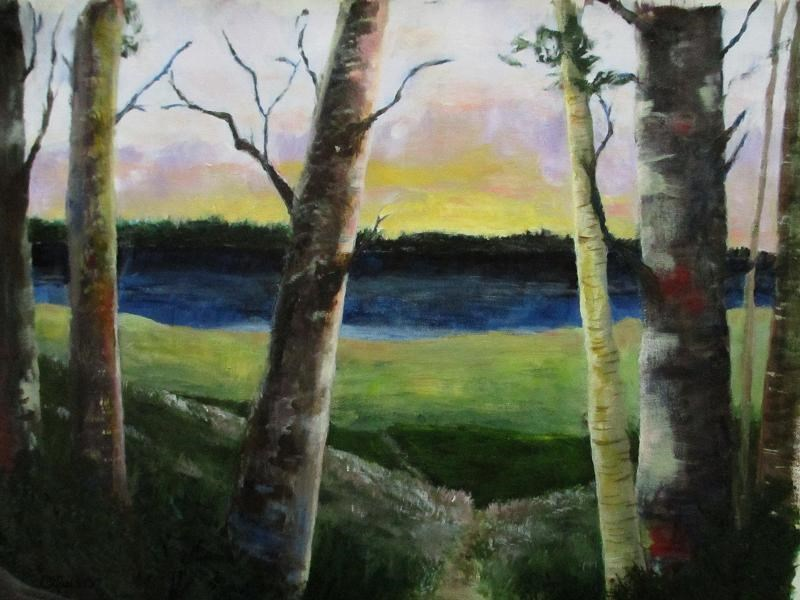 """Solitude"" original fine art by christina glaser"