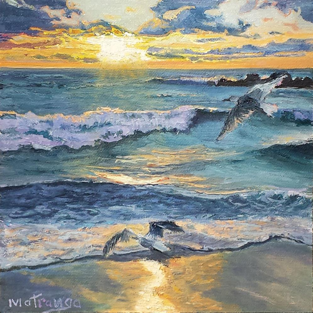 """Last Rays"" original fine art by Patricia Matranga"