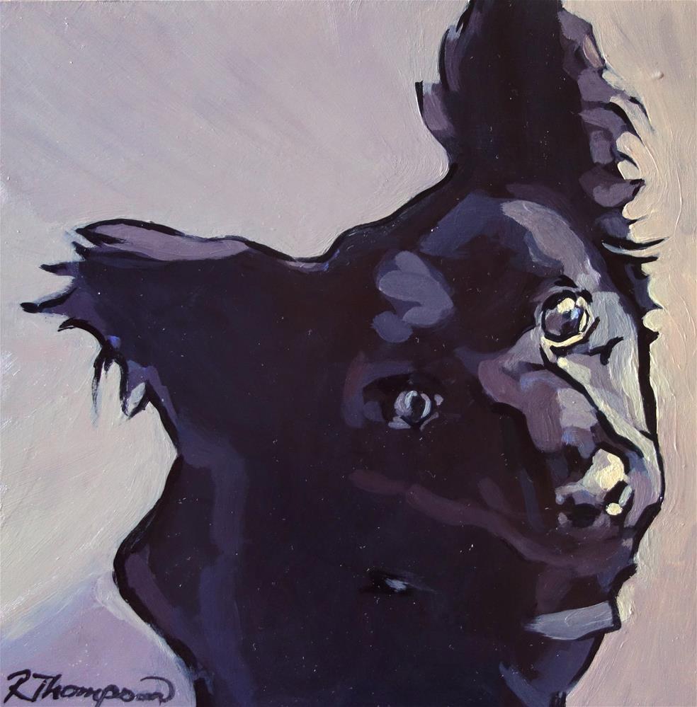 """Shadow"" original fine art by Rachel Thompson"