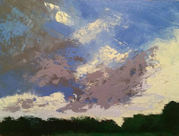 """Last Light, Summer"" original fine art by Mary Gilkerson"