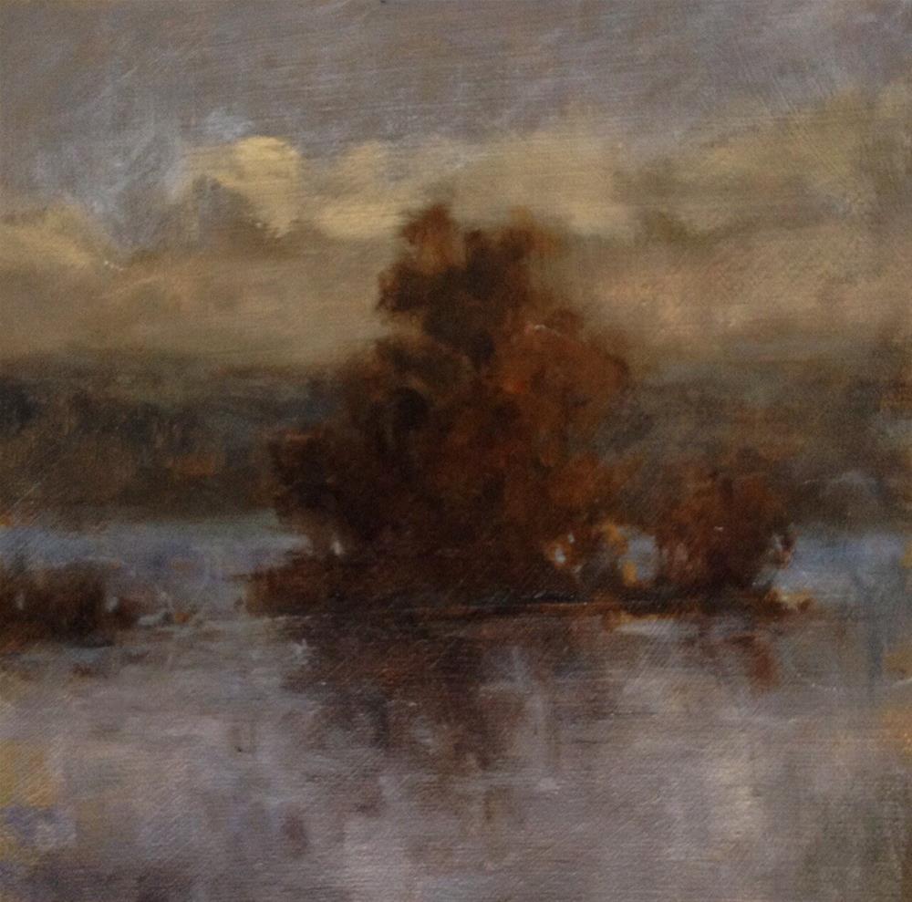 """Greenwood Lake"" original fine art by Dj Laurienzo"