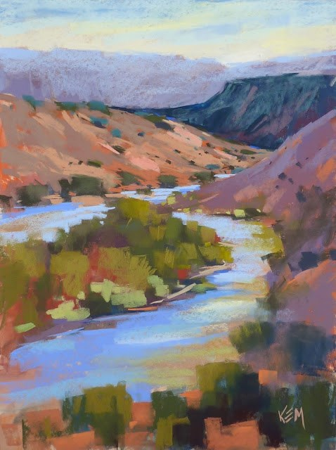 """Why Bother with Plein Air Painting?"" original fine art by Karen Margulis"