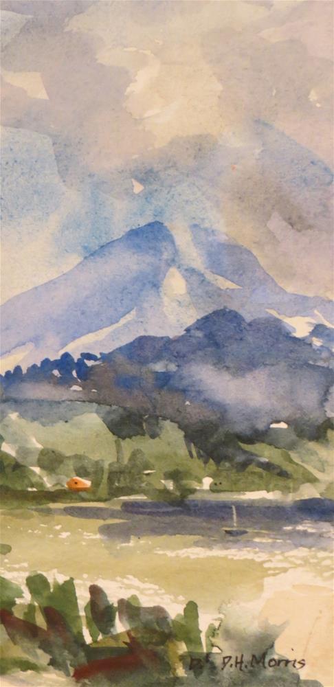 """Green Harbor"" original fine art by Dann Morris"