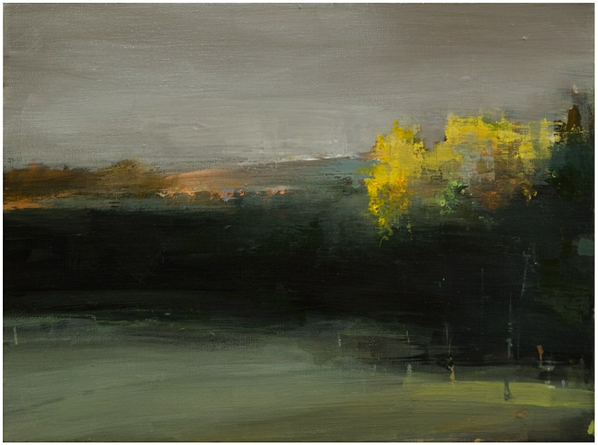 """Late afternoon: Autumn"" original fine art by Steven Goodman"
