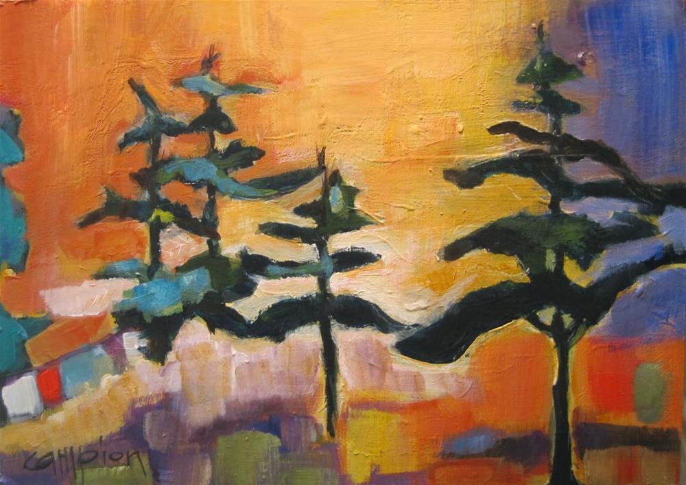 """""""269.  Another Interpretation"""" original fine art by Diane Campion"""