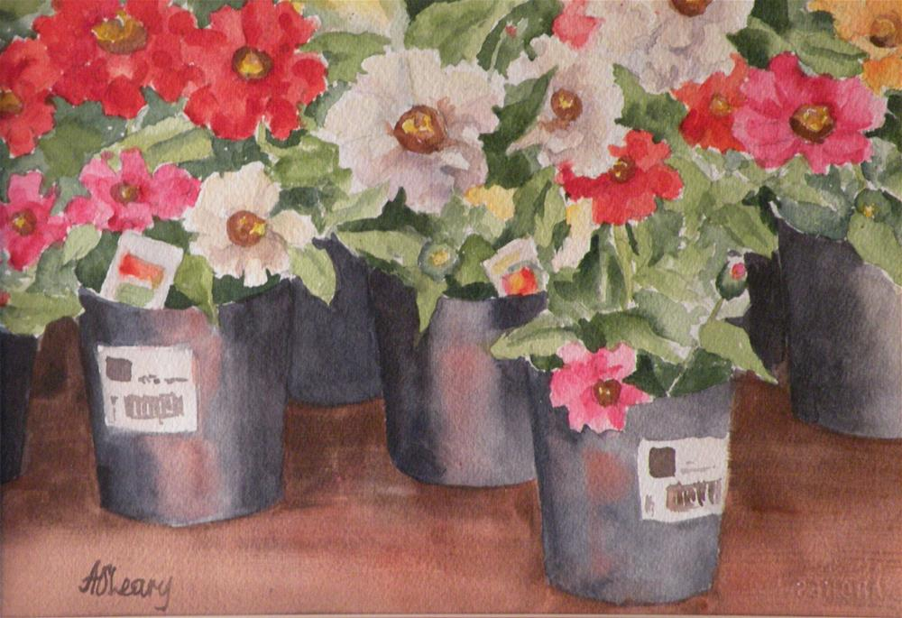 """Spring Planting"" original fine art by Alice O'Leary"