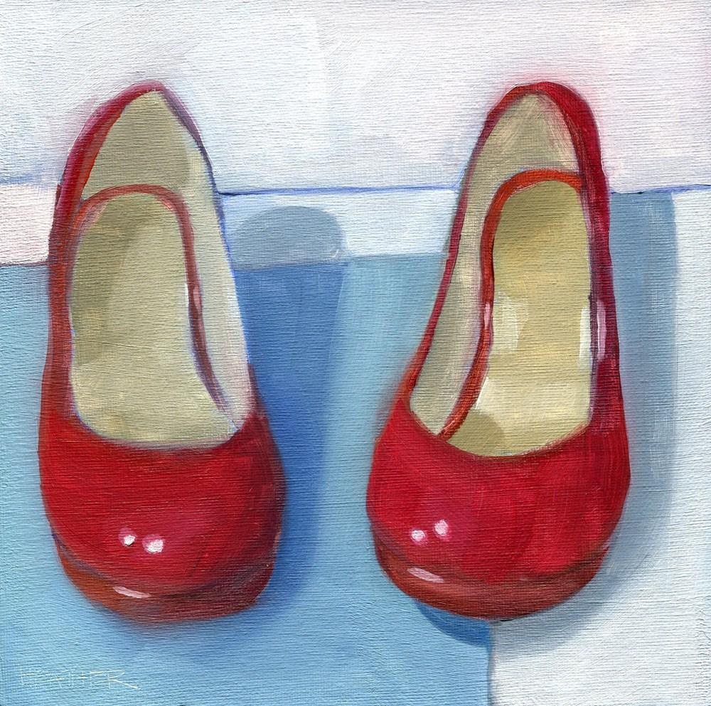 """Dorothy"" original fine art by Heather Bennett"