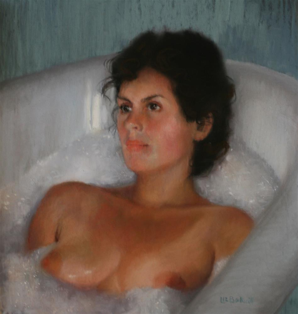 """Soak"" original fine art by Liz Balkwill"
