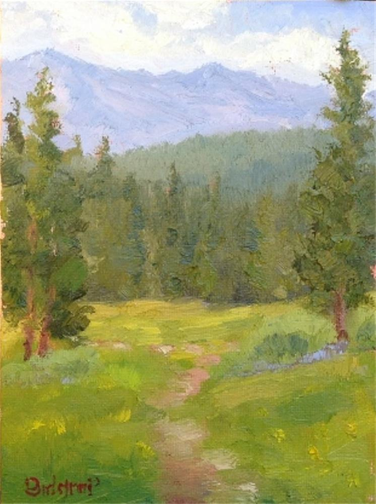 """Lake Forest Glen (Tahoe)"" original fine art by Mark Bidstrup"