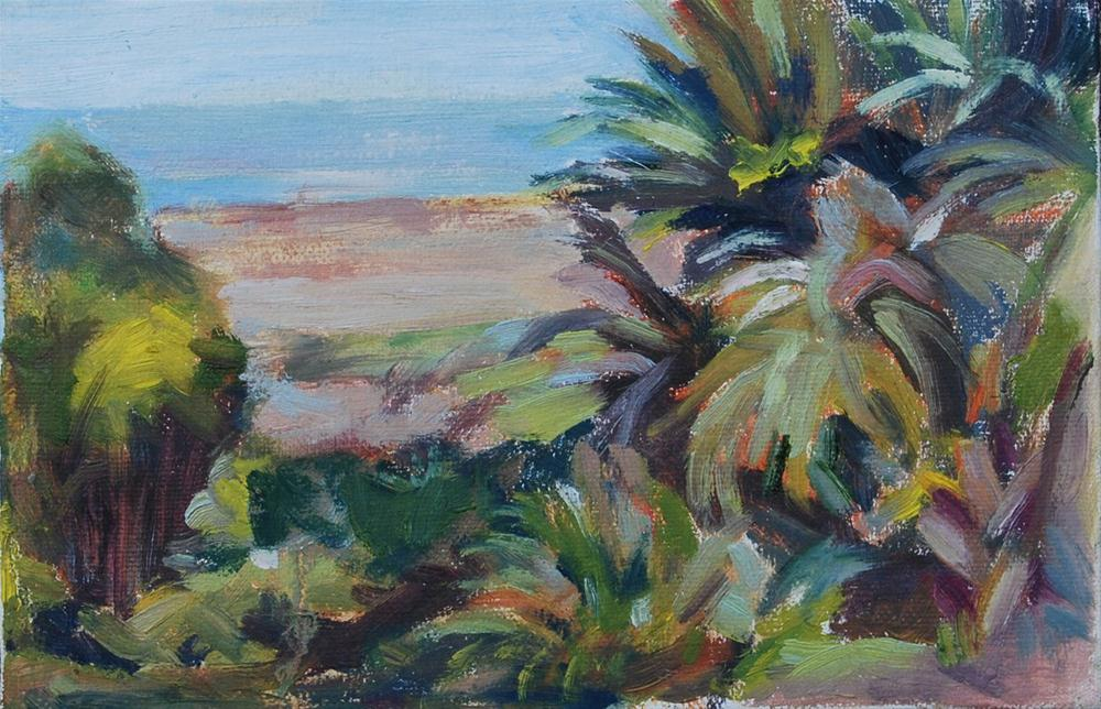 """Plein Air Study—Tybee Island"" original fine art by Carol DeMumbrum"