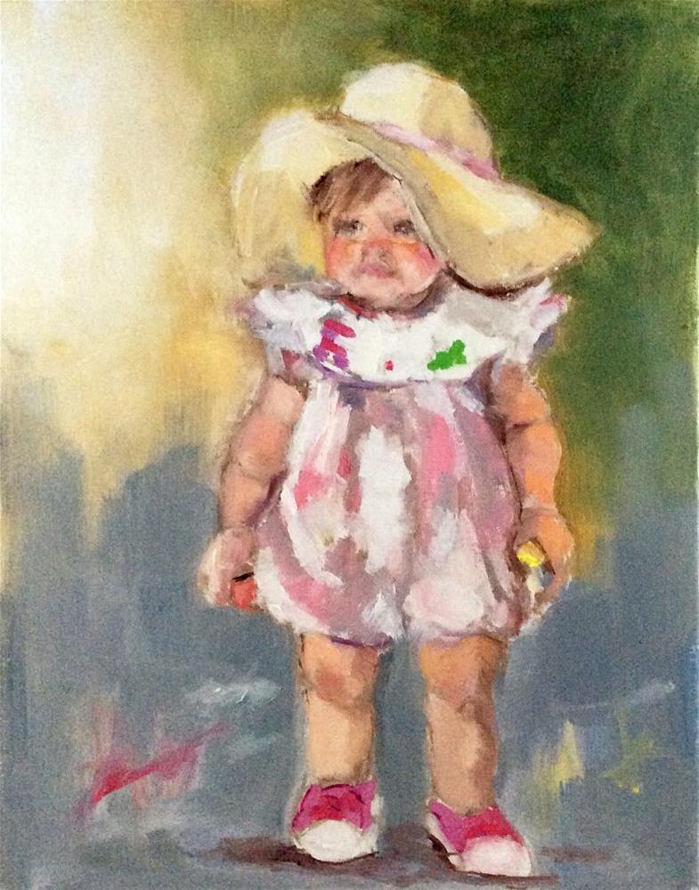 """Chalk Art"" original fine art by Marcia Hodges"