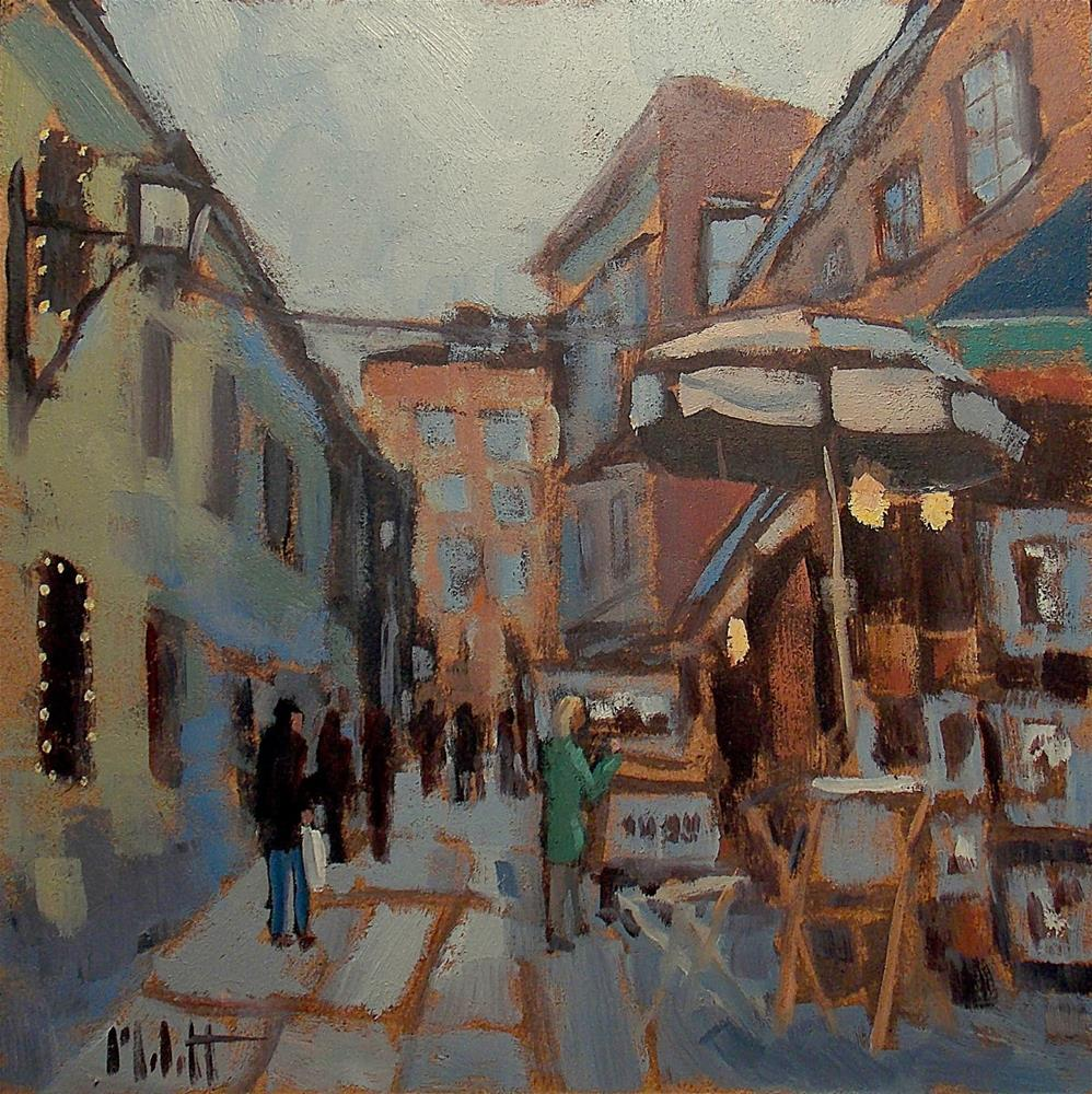 """Streets of Paris Art Gallery Original Oil Paintings"" original fine art by Heidi Malott"
