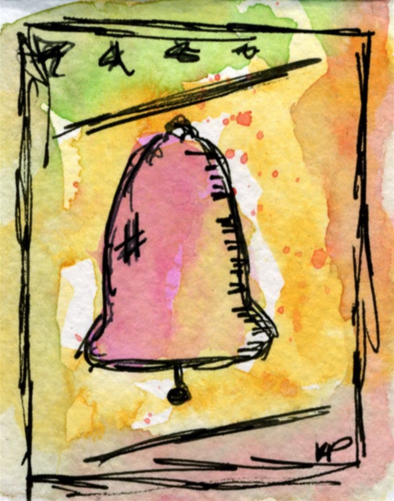 """School Bell's a Ringin'"" original fine art by Kali Parsons"
