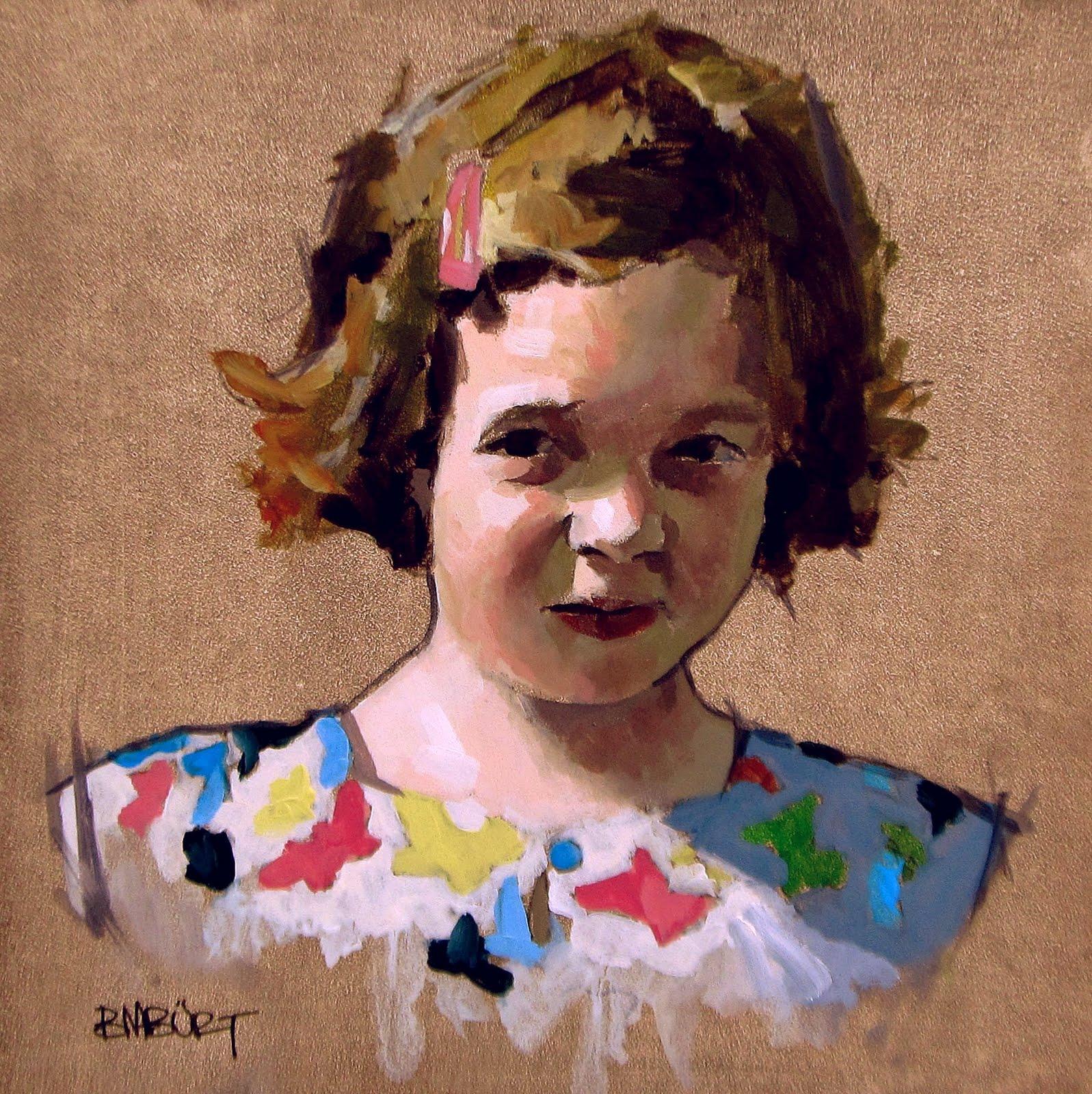 """DAILY DIAPER #202 Sunday's Finest"" original fine art by Brian Burt"