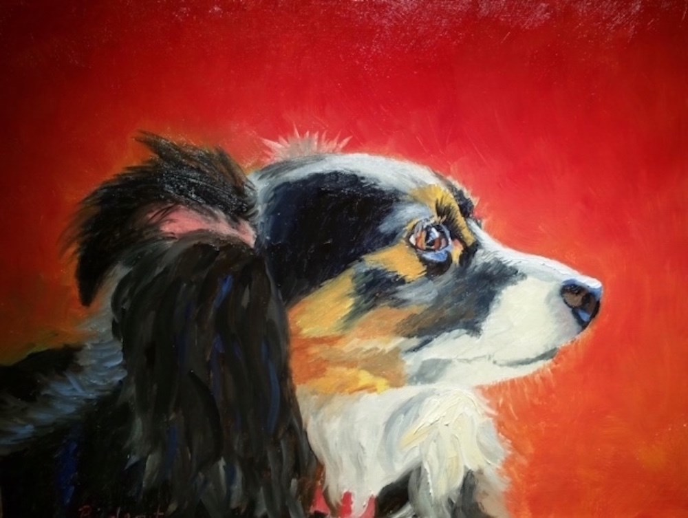 """Sweet Lucy"" original fine art by Michelle Rideout"