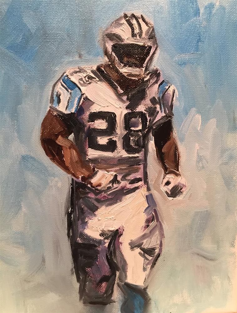 """Jonathan Stewart"" original fine art by Gayle Lambeth"