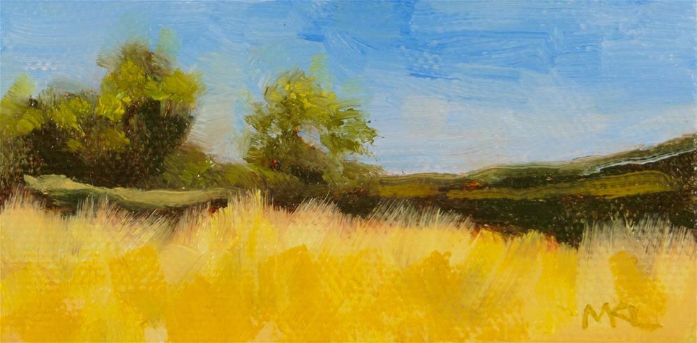 """""""Yolo Causeway Trees"""" original fine art by Marlene Lee"""