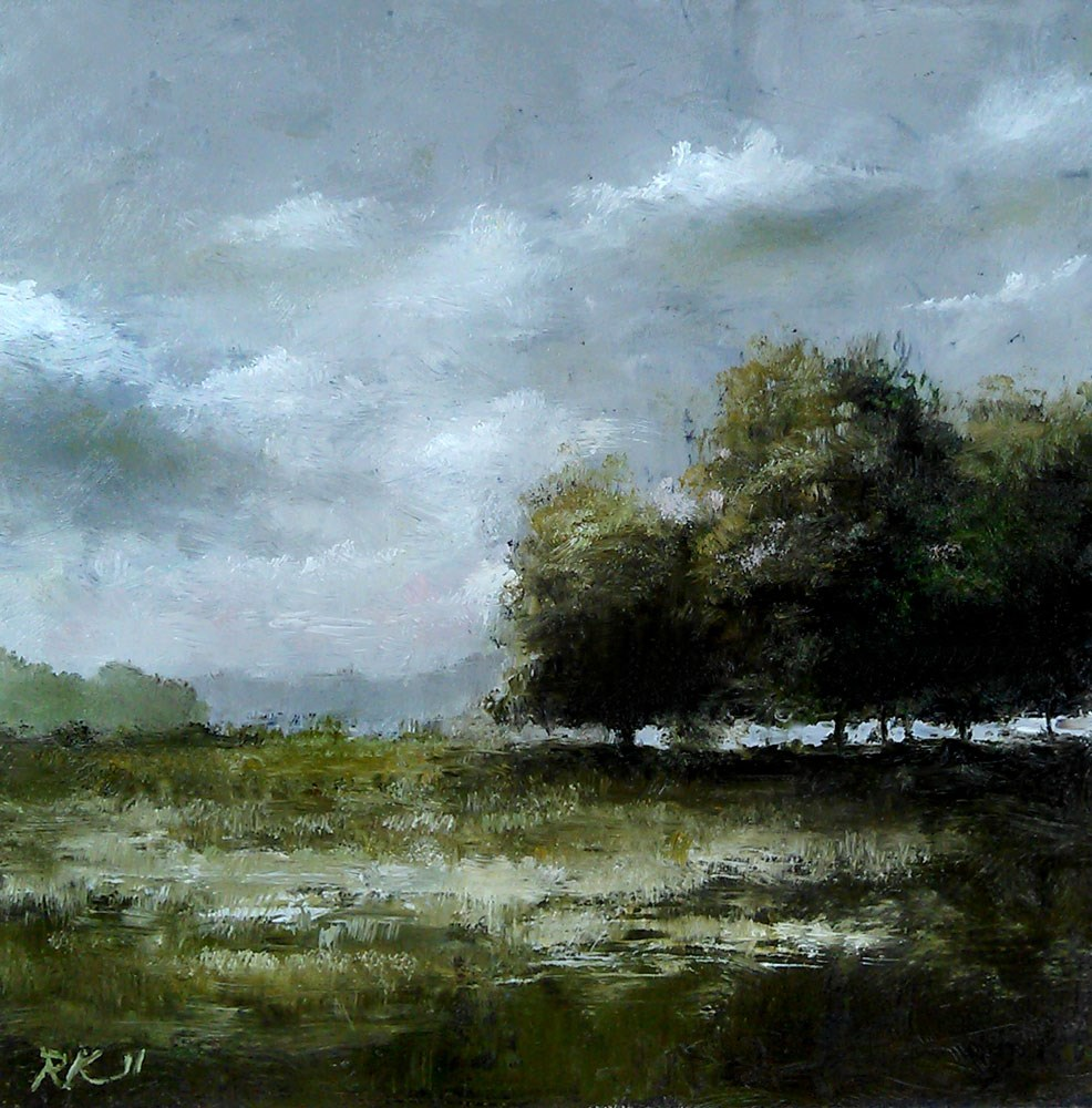 """Stormy Skies II"" original fine art by Bob Kimball"