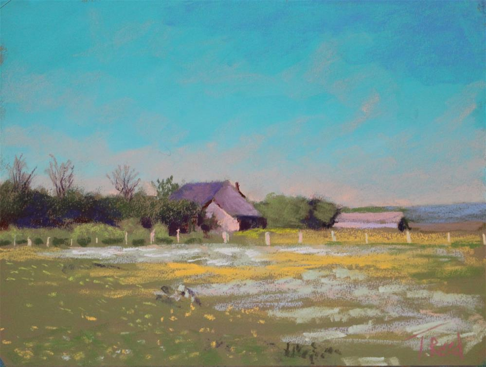 """Tyson Farm"" original fine art by Toby Reid"