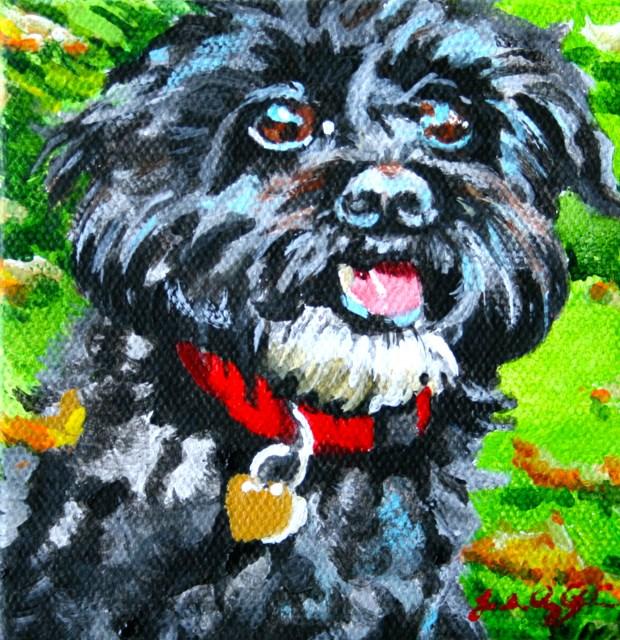 """Emmy"" original fine art by JoAnne Perez Robinson"
