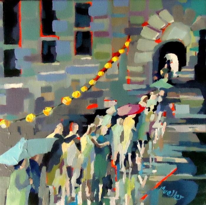"""Worth the Wait"" original fine art by Laurie Mueller"