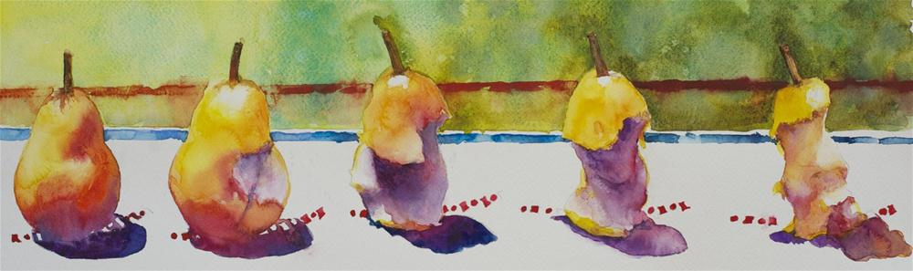 """Tastes Like...."" original fine art by Sue Churchgrant"
