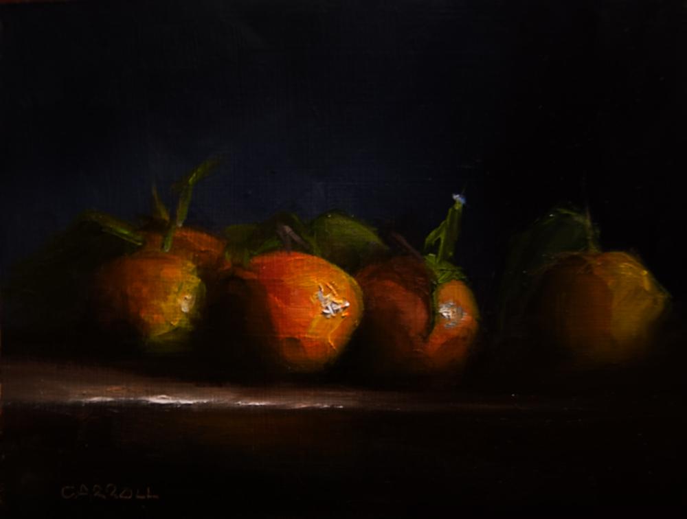 """Algerian Tangerines"" original fine art by Neil Carroll"