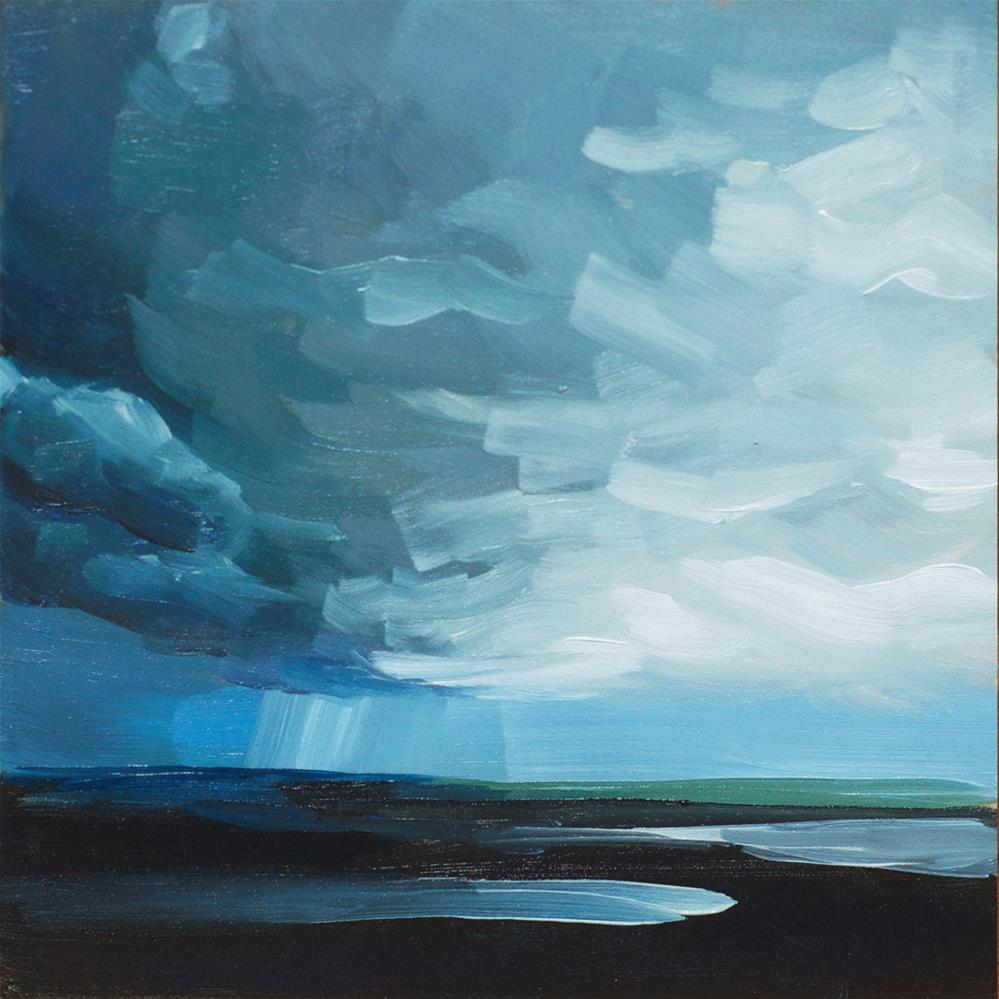"""Storm Clouds"" original fine art by Heather Bullach"