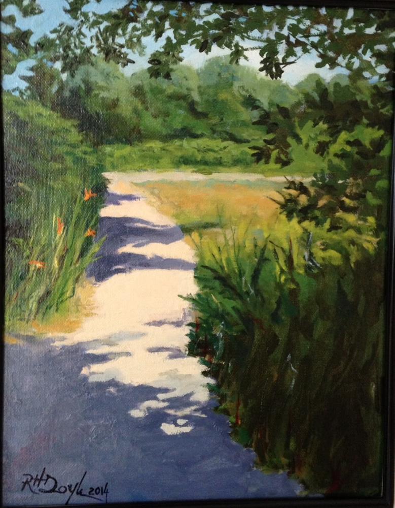 """Dirt Road, Sunny Day"" original fine art by Richard Doyle"