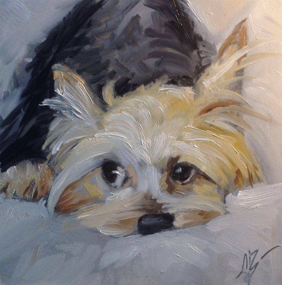 """""""Precious"""" original fine art by Annette Balesteri"""
