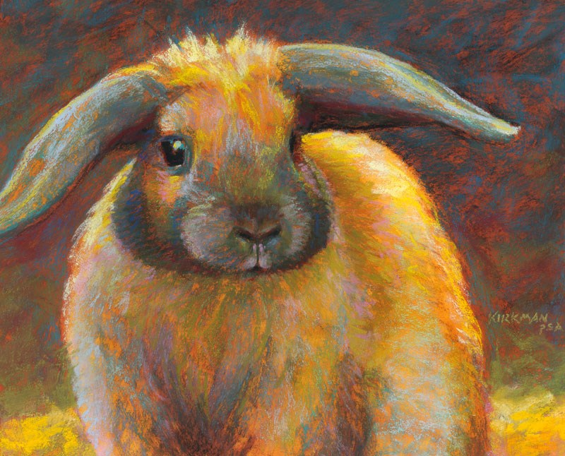"""Munchkin"" original fine art by Rita Kirkman"