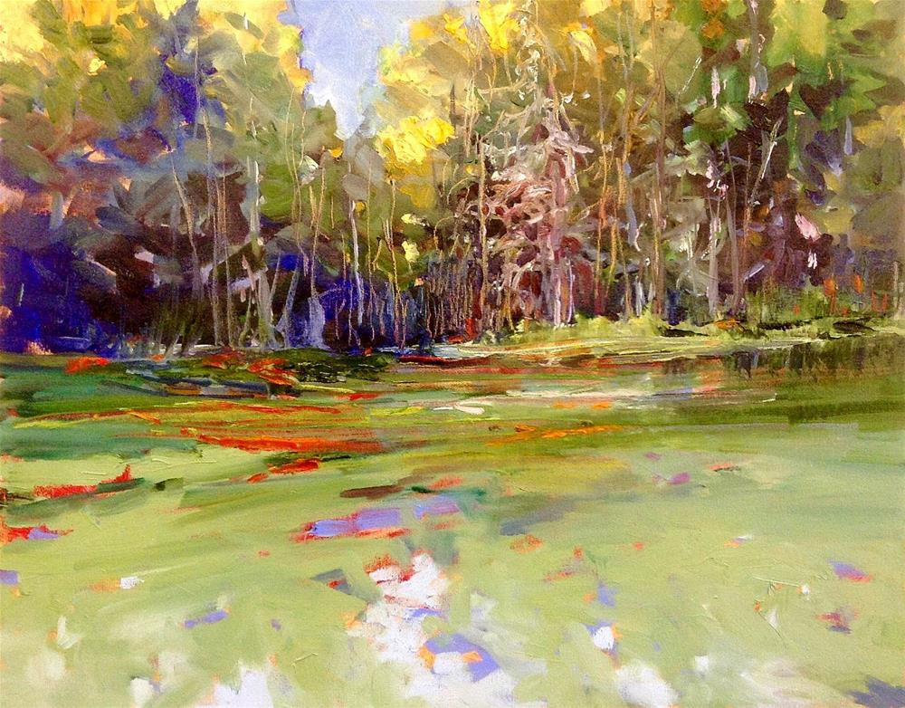 """Marsh Magic"" original fine art by Cathy Boyd"