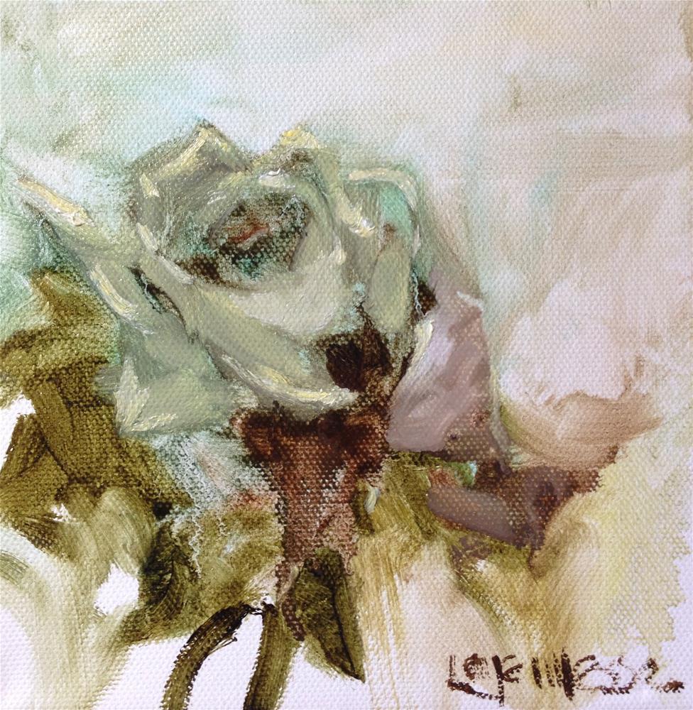 """Rose"" original fine art by Nancy Lajeunesse"