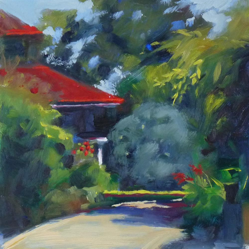 """Path to the Glorietta"" original fine art by Sharman Owings"