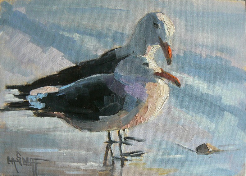 """Sea Gull Painting 