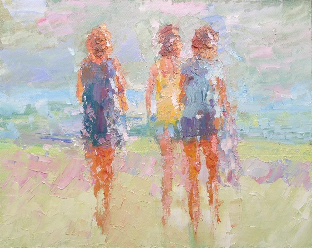 """Three"" original fine art by Joseph Mahon"