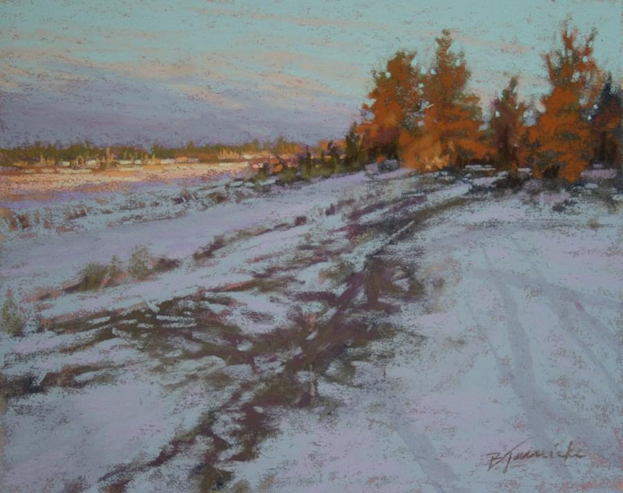"""Distant Light"" original fine art by Barbara Jaenicke"