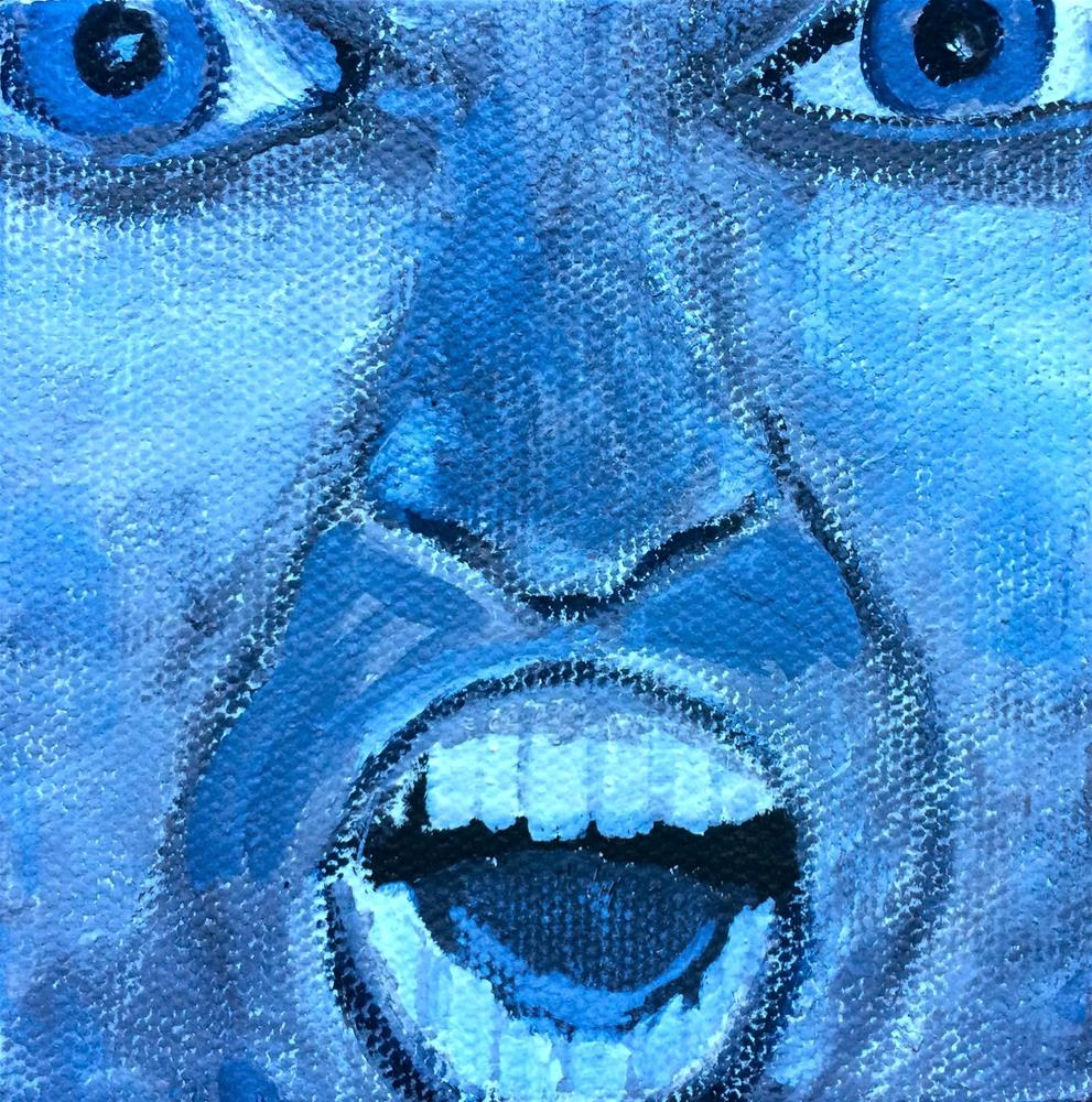"""Expressions - Shocked"" original fine art by Kimberly Balentine"
