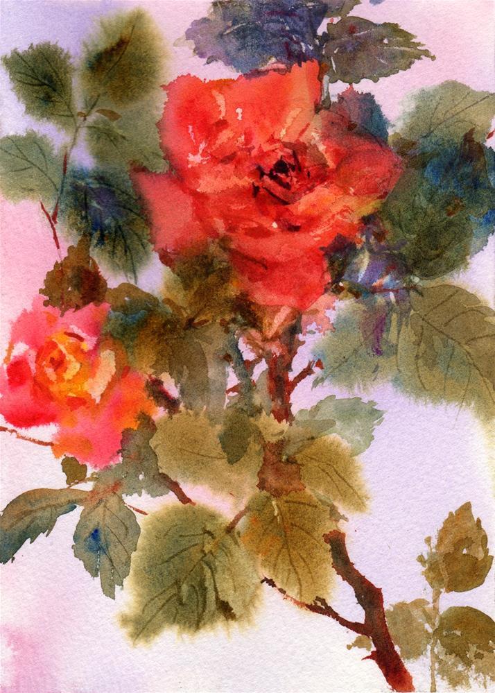 """Sedona Sunset"" original fine art by Linda Henry"