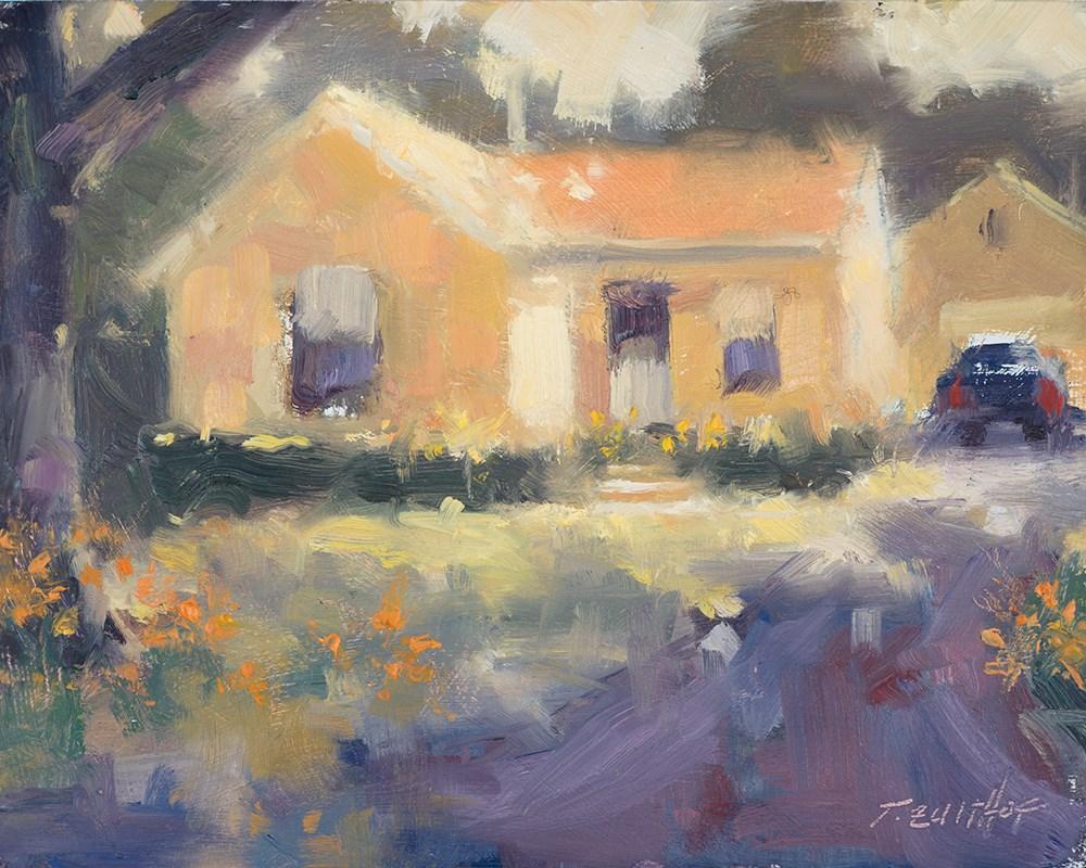 """""""Orange Lilies"""" original fine art by Todd Zuithof"""