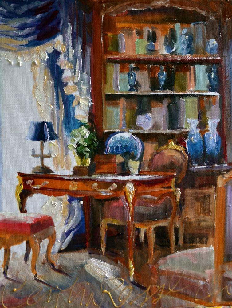 """""""DELFT STUDY"""" original fine art by Cecilia Rosslee"""