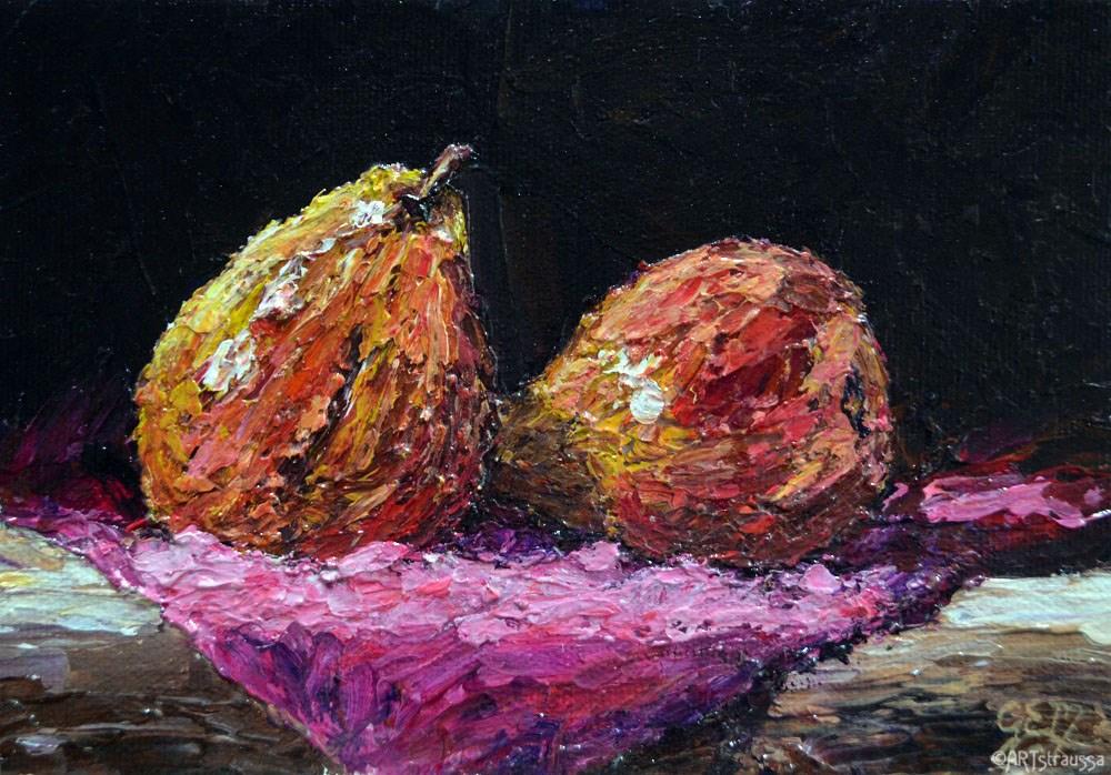 """""""Pair of Pairs"""" original fine art by Gloria Ester"""