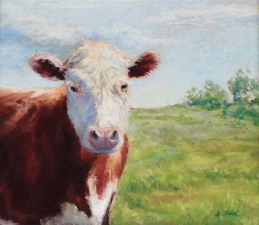 """Emmett"" original fine art by Vikki Bouffard"