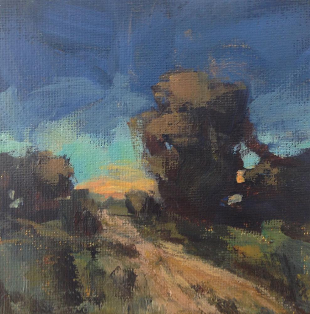"""Somewhere Beyond"" original fine art by Shannon Bauer"