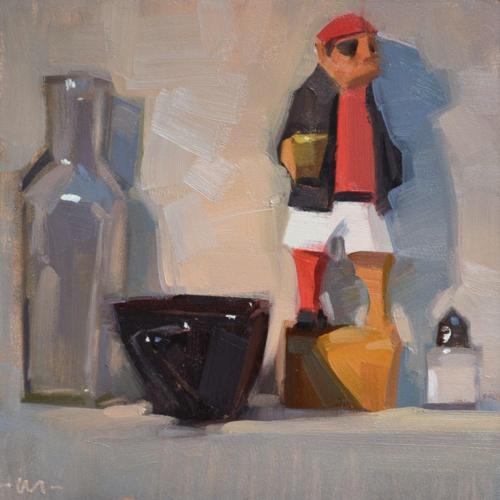 """""""Salty"""" original fine art by Carol Marine"""