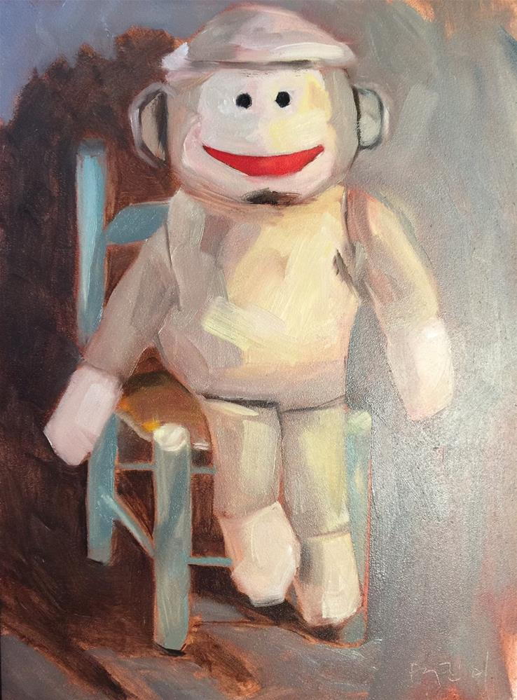 """92 Cheeeese"" original fine art by Jenny Doh"