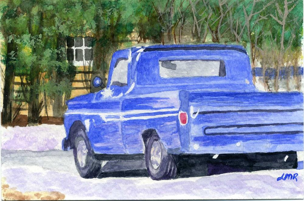 """Vintage Chevy"" original fine art by Lynne Reichhart"