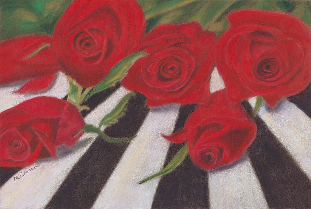 """""""Half Dozen Red"""" original fine art by Arlene Crafton"""
