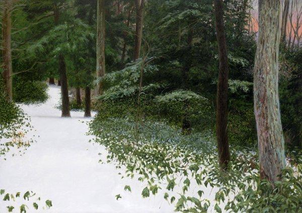 """Laurel Path"" original fine art by Danny O'Leary"