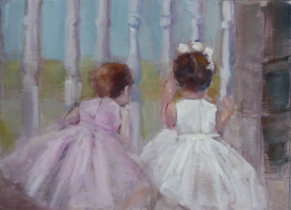 """Almost time for the Wedding"" original fine art by Carol Josefiak"